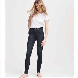 Rag and Bone Nina High Rise Skinny Jeans